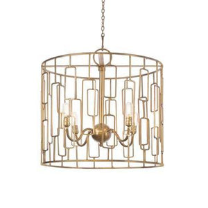 Antique Gold Chandelier   Lighting