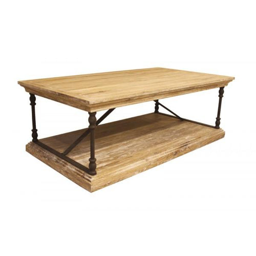 Antique Oak Coffee Table - Furniture