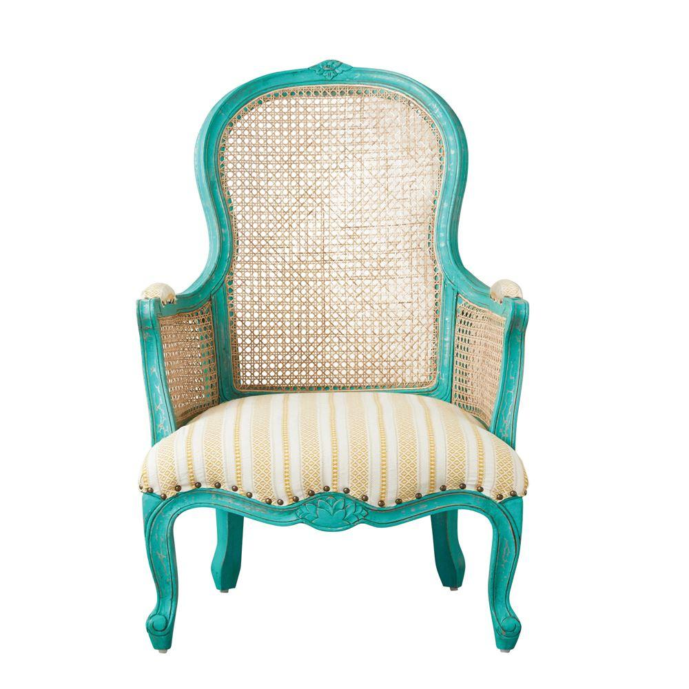 Aqua Accent Chair Furniture