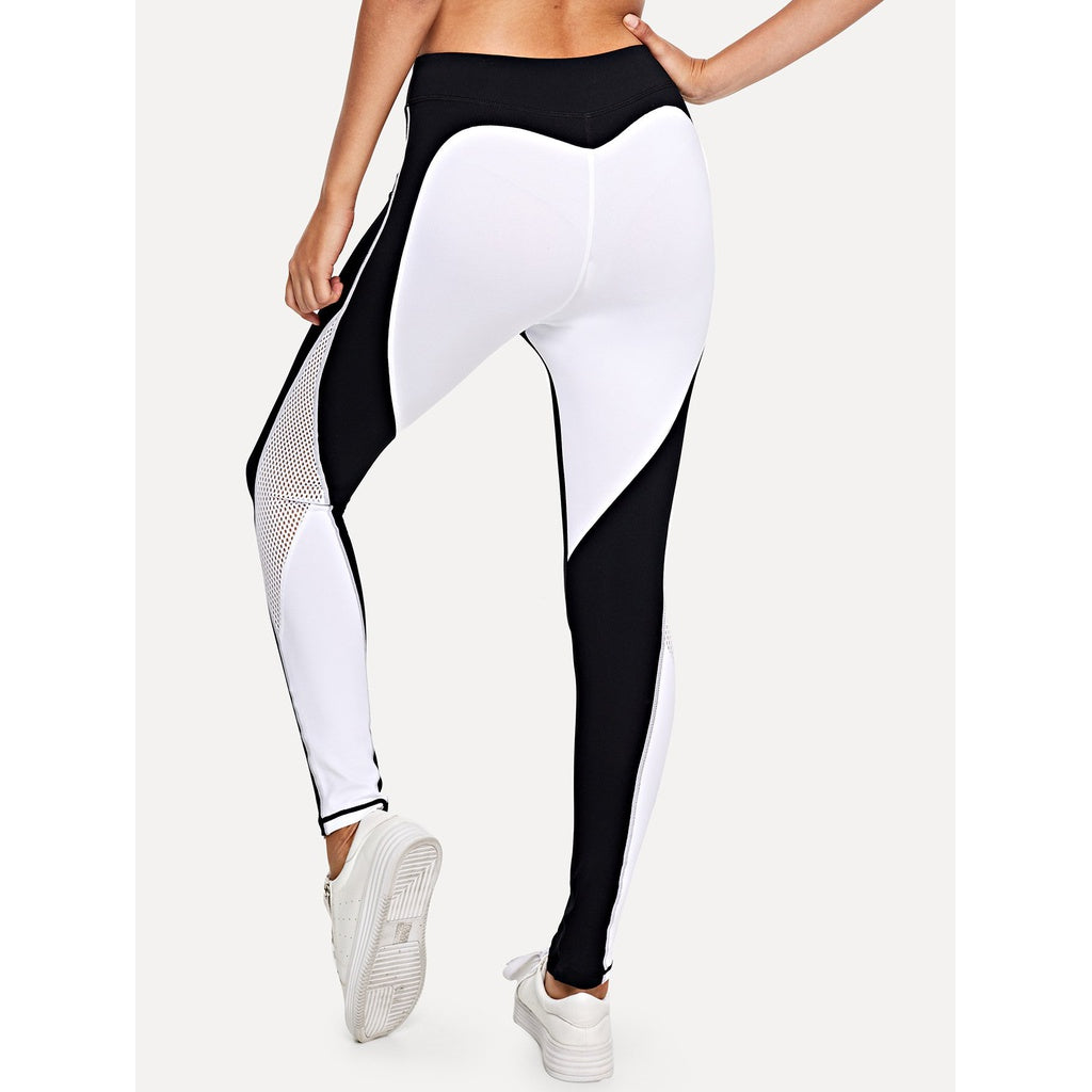 Colorblock Skinny Leggings - Women - Apparel - Activewear - Leggings