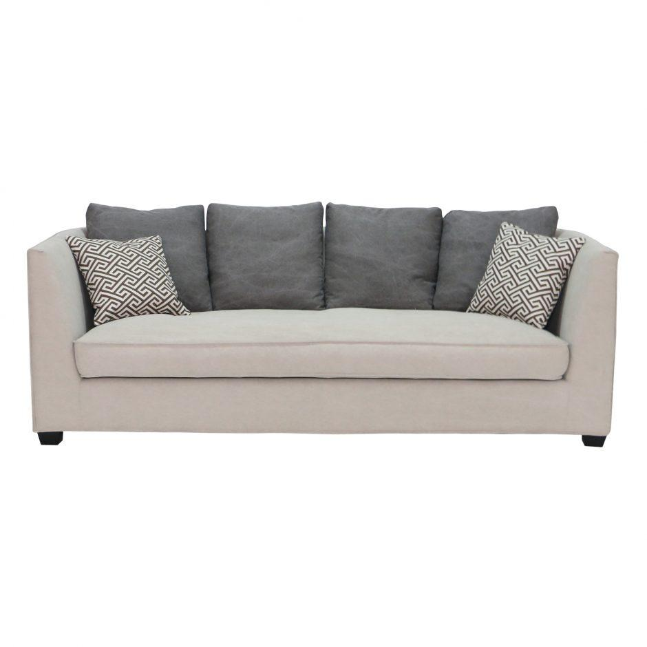 Contrasting Pillow Sofa - Furniture