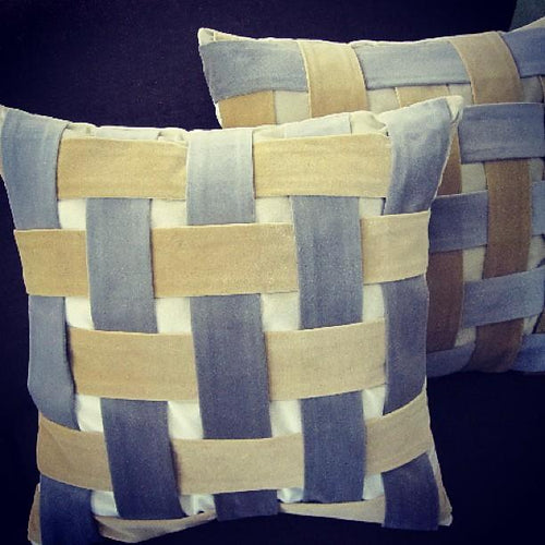 Custom Woven Patterned Decorative Pillows - Decorative Pillows