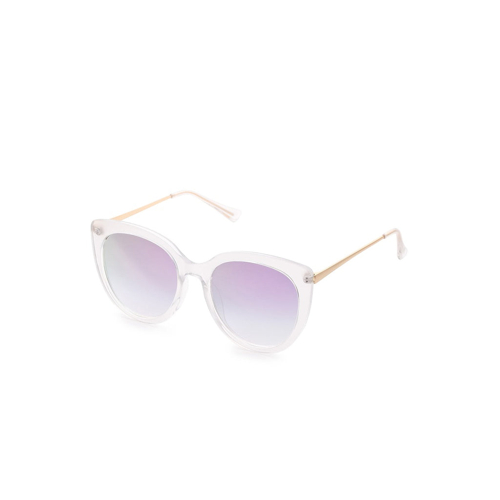 Clear Frame Cat Eye Sunglasses - Fashion Accessories