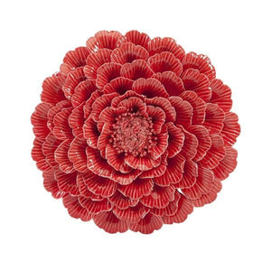 Decorative Porcelain Wall Flower - Home Decor