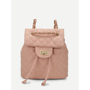 Quilted Flap Backpack - Women - Bags - Backpacks