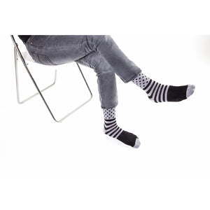 5-Pair Colorful Polka Dot-Striped Socks - Men - Apparel - Lingerie and Sleepwear - Socks