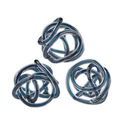 Glass Decorative Knots - Home Decor