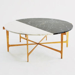 Gold Leaf Coffee Table - Furniture