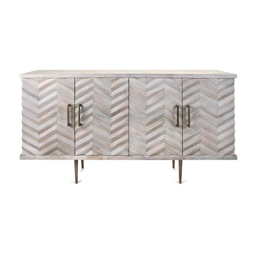 Modern Etched Buffet Cabinet - Furniture