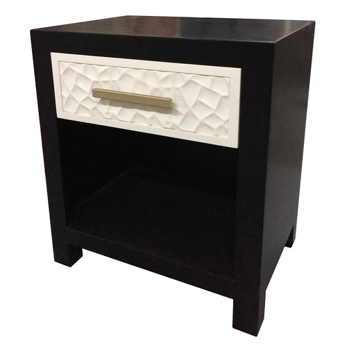 Modern One Drawer Nightstand - Furniture