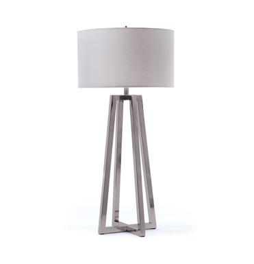 Polished Nickel Table Lamp - Lighting