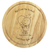 Chilli & Bubbles Valentine's Chopping Board - The Gift Cafe