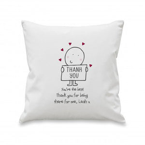 Chilli & Bubbles Thank You Cushion - The Gift Cafe