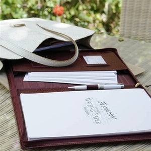 Burgundy A4 Writing Case - The Gift Cafe