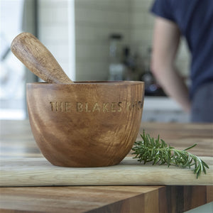 Personalised Mortar & Pestle Set - The Gift Cafe