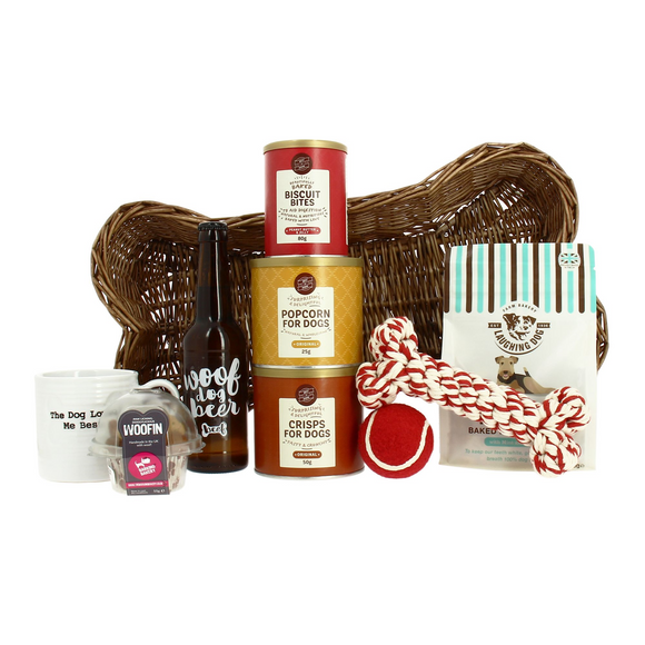 Doggie Treat Hamper - The Gift Cafe