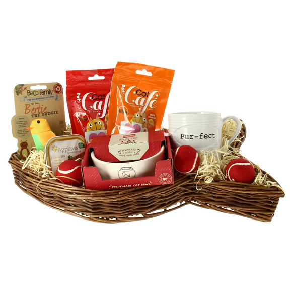 Cat Treat Hamper - The Gift Cafe