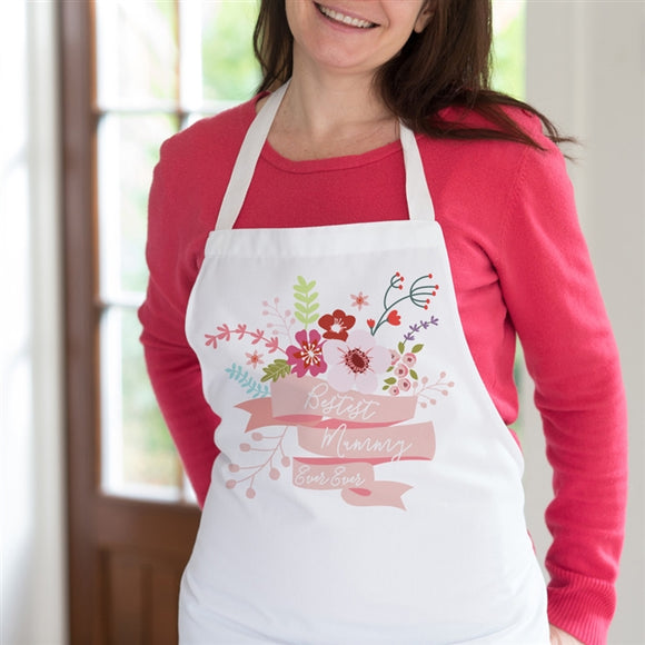 Personalised apron for her, perfect for birthdays, mother's day and special occasions