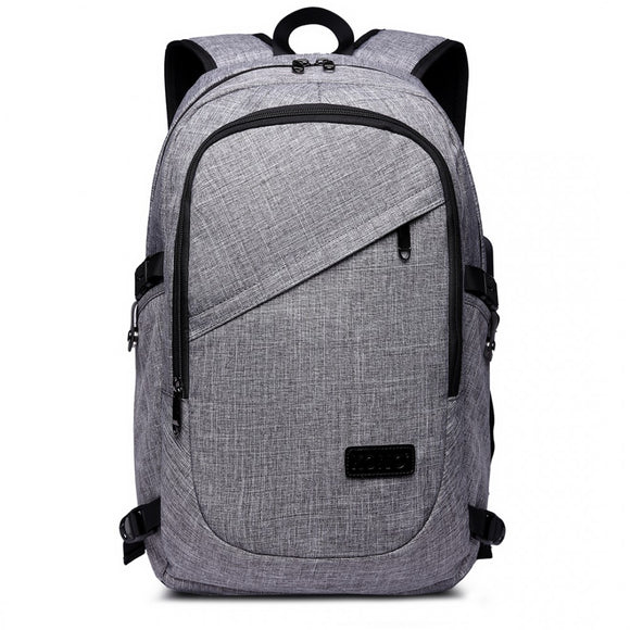 Business Laptop Backpack with USB Charging Port - The Gift Cafe