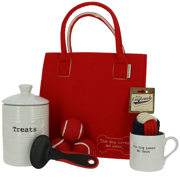 Luxury Dog Treat Tote Gift Bag - The Gift Cafe