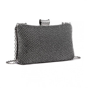Diamante Embellished Clutch Bag - The Gift Cafe