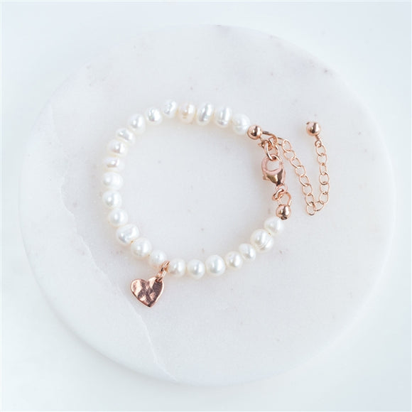 Freshwater Pearl Christening Bracelet - The Gift Cafe