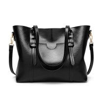 Executive Leather Look Shoulder Bag - The Gift Cafe
