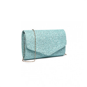 Glitter Evening Clutch Bag - The Gift Cafe