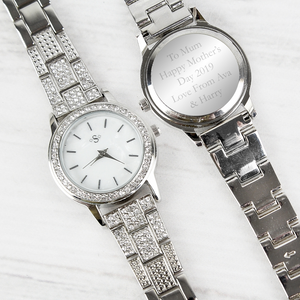 Personalised Diamante Ladies Watch - The Gift Cafe