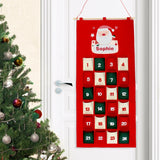 Personalised Santa Advent Calendar - The Gift Cafe