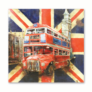 Pride of London - 3D Wall Art - The Gift Cafe