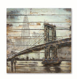 Brooklyn Bridge - 3D Wall Art - The Gift Cafe