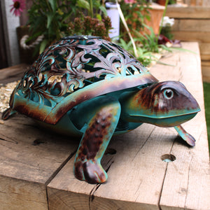 Ornate Solar Tortoise - The Gift Cafe