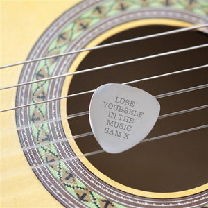 Personalised Plectrum - The Gift Cafe