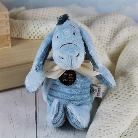 Classic Personalised Eeyore Soft Toy - The Gift Cafe