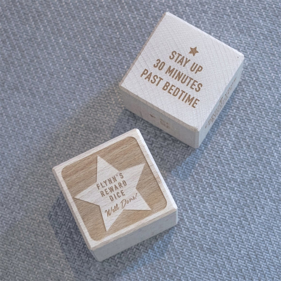 Personalised Children's Reward Dice - The Gift Cafe