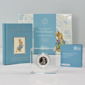 Peter Rabbit Royal Mint Silver Proof Coin & Book Set - The Gift Cafe