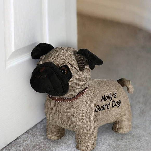 Pug Door Stop - The Gift Cafe