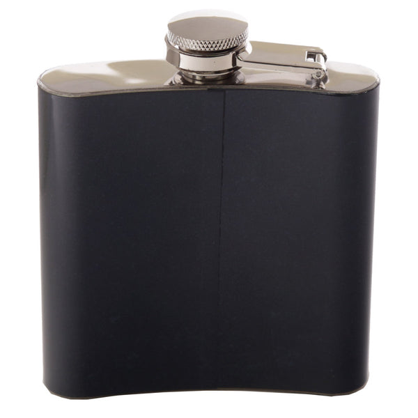 Fun Retro Motorcycle Stainless Steel Hip Flask