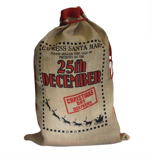 Santa Sack - Delivery 25th December - The Gift Cafe