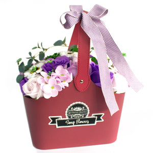 Soap Flower Basket - The Gift Cafe