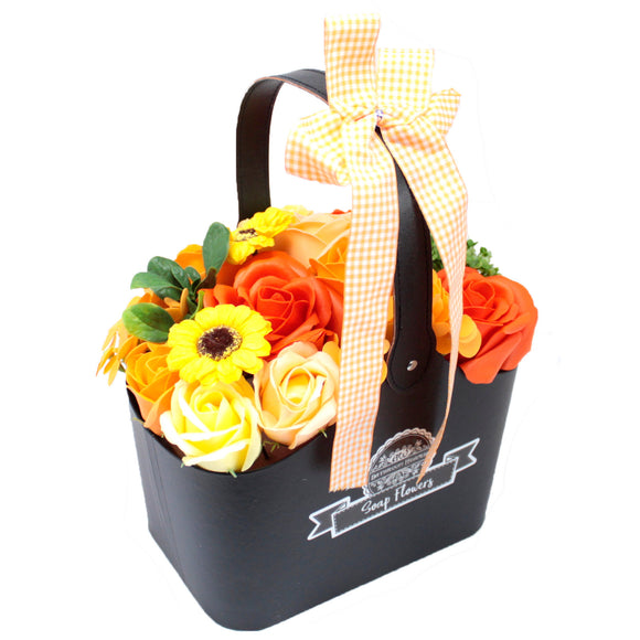 Soap Flower Basket