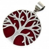 Silver Tree of Life Pendant - The Gift Cafe