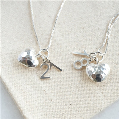 Stylish Silver Milestone Necklace - The Gift Cafe