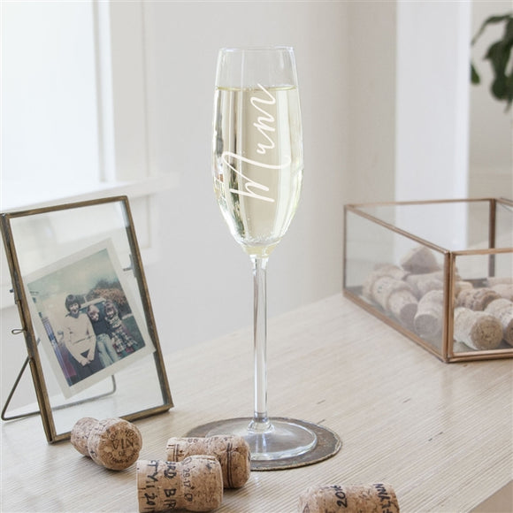 Mum/Mummy Champagne Flute - The Gift Cafe