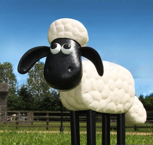 Shaun the Sheep Metal Sculpture - The Gift Cafe