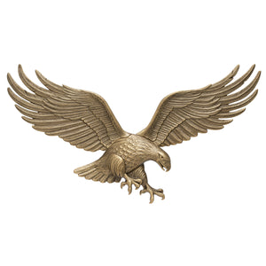 "36"" Wall Eagle - Antique Brass"