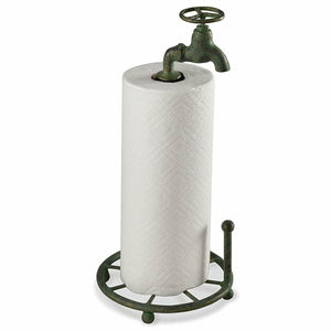 Water Faucet Paper Towel Holder