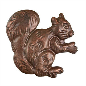 Metal Set of 4 Squirrel Napkin Rings