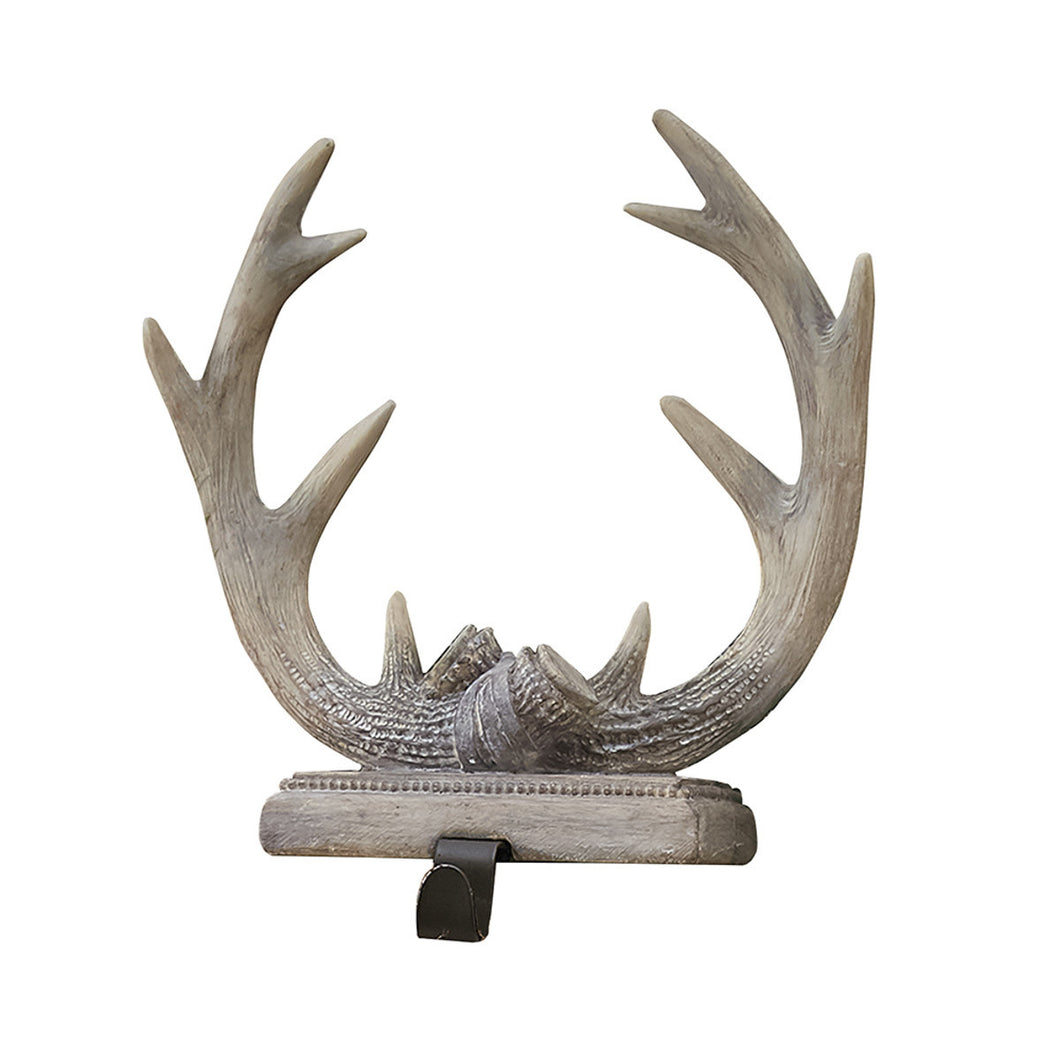 Deer Antler Christmas Stocking Holder